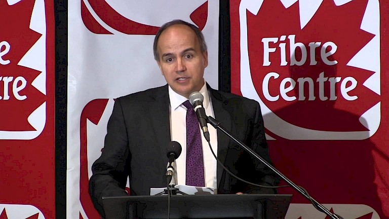Fibre Centre Press Conference (Part 3 of 5) NB Power