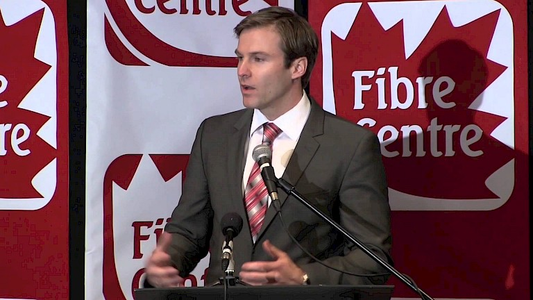 Fibre Centre Press Conference (Part 4 of 5) Premier of NB